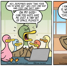 Dad's Relatable Comics Sum Up Parenting During A Pandemic